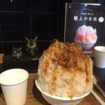 【夏限定】群馬県高崎市のお花屋さんでかき氷を食べる【花暦氷本舗】